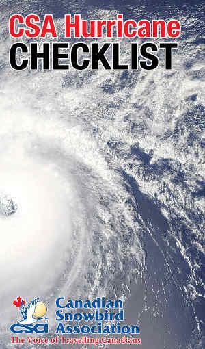 CSA Hurricane Checklist