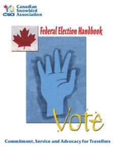 Canada federal election handbook